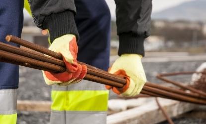 Rękawice chroniące przed przecięciem stosowane do prac-min